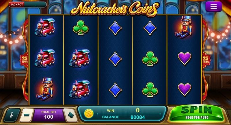 สล็อต Epicwin Nutcrackeis Coins
