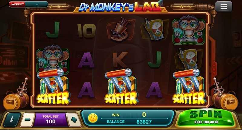 สล็อตออนไลน์มือถือ Epicwin Dr Monkey's Lab