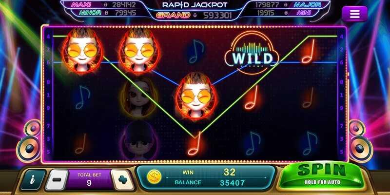 รีวิวเกม epic music slot