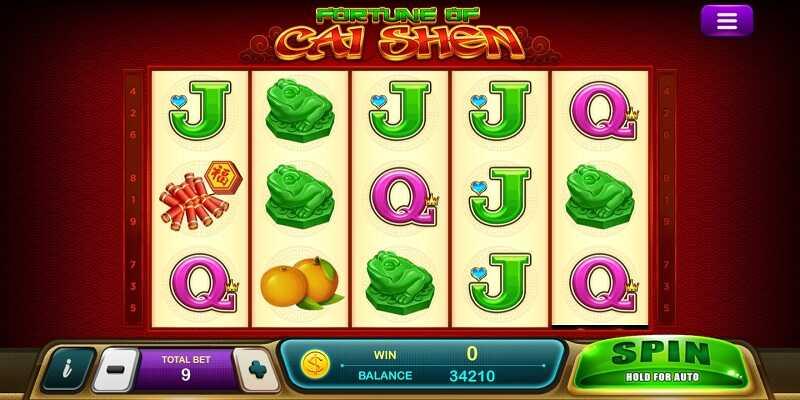 ธีมเกม fortune of caishen slot