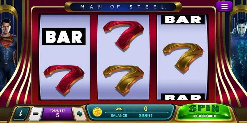 รีวิวเกม man of steel slot