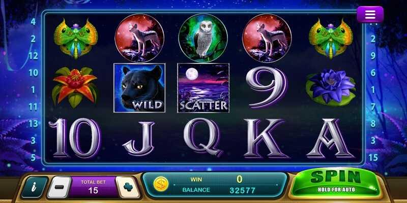 รีวิวเกม panther moon slot